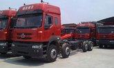 东风柳汽 霸龙重卡 260马力 8X2 9.6米栏板载货车(LZ1313PEL)