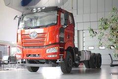 一汽束缚 J6P重卡 420马力 6X4 6.4米自卸车底盘(CA3250P66K2L2BT1A1E5) 卡车图片