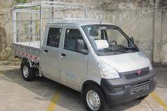 五菱 荣光小卡 1.5L 107马力 汽油 2.08米双排仓栅衰落卡(LQG5029CCYSPY) 卡车图片