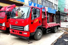 束缚 虎VH 大王晋级版 160马力 4X2 4.21米平板运输车(CA5043TPBP40K2L1E5A84)