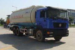 陕汽重卡 德龙F3000 375马力 8X4 低密度粉粒物料运输车(SX5310GFLFB466)