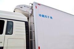 中国重汽 HOWO T5G 340马力 8X4 9.4米冷藏车(ZZ5317XLCN466GE1)