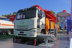 一汽解放 J6P 220马力 6X4 混凝土泵车(科尼乐牌)(KNL5341THB)