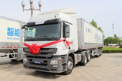 疾驰 Actros重卡 440马力 6X2R牵引车(型号2644E5) 卡车图片