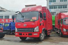 束缚 虎VH 140马力 3.85米排半仓栅式轻卡(CA5049CCYP40K2L1E5A84) 卡车图片