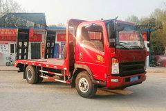 中国重汽HOWO 悍将 170马力 4X2 平板运输车(ZZ5047TPBG3315E144)
