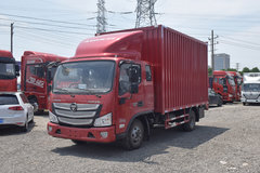 福田 欧马可S3系 156马力 5.8米排半厢式轻卡(万里扬6挡)(BJ5108XXY-FG) 卡车图片