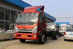 福田 奥铃CTS 170马力 5.25米排半栏板轻卡(BJ1148VKPED-FB) 卡车图片