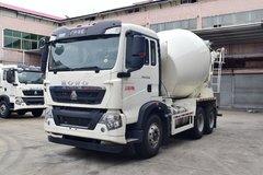 中国重汽 HOWO T5G 340马力 6X4 5.99方混凝土搅拌车(ZZ5257GJBN324GE1)