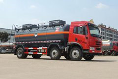 青岛解放 龙V 220马力 6X2 杂项危险物品罐式运输车(醒狮牌)(SLS5253GZWC5V)