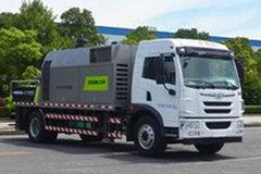 青岛解放 龙V 220马力 4X2 车载式混凝土泵车(中联牌)(ZLJ5180THBJE)