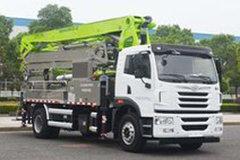 青岛解放 悍V 260马力 4X2 混凝土泵车(中联牌)(ZLJ5200THBJE)