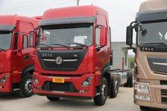 西风商用车 天龙KL重卡 465马力 8X4 9.6米栏板载货车(超速挡)(DFH1310A1) 卡车图片
