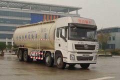 陕汽重卡 德龙X3000 加强版 430马力 8X4 40方低密度粉粒物料运输车(SX5310GFL4B466)