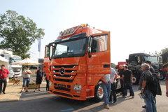 疾驰 Actros重卡 480马力 6X4牵引车(型号2648L) 卡车图片