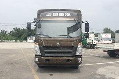 中国重汽HOWO 悍将 2019款 156马力 4.15米单排厢式轻卡(6开门)(ZZ5047XXYF341CE145) 卡车图片