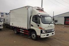 江淮 骏铃V6 141马力 4X2 4.03米冷藏车(HFC5043XLCP91K2C2V)