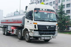 福田 欧曼 260马力 8X4 化工液体运输车(醒狮牌)(SLS5311GHYB)