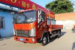中国重汽HOWO 统帅 物流版 148马力 4.165米单排栏板轻卡(ZZ1047F341CE145)