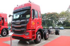 江淮 格尔发A5W重卡 2020款 285马力 6X2 9.6米栏板载货车(HFC1251P1K3D54S3V) 卡车图片