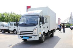 跃进 上骏X100-33 110马力 3.18米双排厢式轻卡(SH5042XXYKFDCNS) 卡车图片