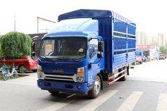 江淮 帅铃Q7 154马力 5.2米排半仓栅式轻卡(HFC5120CCYP91K1D1V) 卡车图片