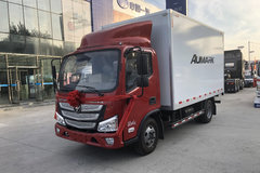 福田 欧马可E版 定制版 110马力 4.14米单排厢式轻卡(中体)(BJ5045XXY-F2) 卡车图片