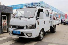 西风途逸 1.6L 105马力 CNG 2.99米双排栏板小卡(国六)(EQ1030D16QC) 卡车图片