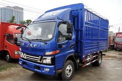 江淮 骏铃V6 156马力 4X2 4.18米桶装渣滓运输车(HFC5043CTYP91K2C2V)
