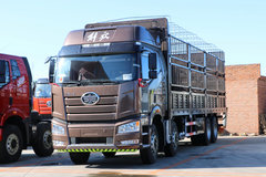 一汽束缚 新J6P重卡 重载型 460马力 8X4 9.5米仓栅式载货车(CA5310CCYP66K24L7T4E5)