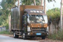 中国重汽HOWO 悍将 2019款 科技版 143马力 4.15米单排厢式轻卡(ZZ5047XXYF3315E145) 卡车图片
