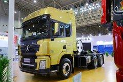 陕汽重卡 德龙X3000 460马力 6X4 LNG牵引车(www.js77888.com)