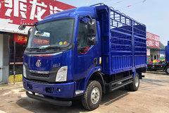 西风柳汽 乘龙L3 160马力 4X2 4.2米单排仓栅式载货车(LZ5093CCYL3AB)