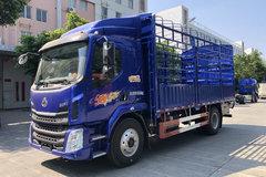 西风柳汽 新乘龙M3中卡 185马力 4X2 5.7米仓栅式载货车(LZ5180CCYM3AB) 卡车图片