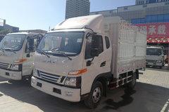 江淮 骏铃V6 156马力 3.85米排半仓栅式轻卡(HFC5043CCYP91K2C2NV) 卡车图片