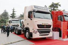 中国重汽 HOWO T7H重卡 440马力 6X4 LNG牵引车(www.js77888.com)(ZZ4257V384HF1LB) 卡车图片