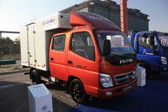 福田 奥铃TX 103马力 2.7米双排厢式轻卡 卡车图片