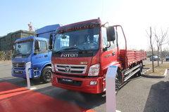 福田 奥铃捷运中卡 140马力 6.7米排半载货车(2012版)(BJ1121VHPFK-S) 卡车图片