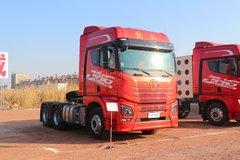 青岛束缚 JH6重卡 智尊版北方款 550马力 6X4 AMT主动挡牵引车(CA4259P25K2T1E5A80) 卡车图片