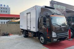 束缚 虎VH 156马力 4X2 4.13米冷藏车(CA5041XLCP40K17L1E5A85)