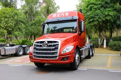 西风柳汽 乘龙T5重卡 400马力 6X4长头牵引车(LZ4250T5DC1) 卡车图片