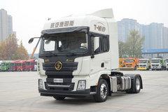 陕汽康明斯 德龙X3000 轻量化版 440马力 4X2牵引车(伊顿13挡)(SX4180XC13) 卡车图片