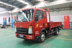中国重汽HOWO 悍将 经典款 116马力 3.3米排半栏板轻卡(ZZ1047C2813E145) 卡车图片