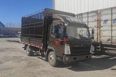 中国重汽HOWO 悍将 2020款万能版 156马力 4.15米单排仓栅式轻卡(ZZ5047CCYF3315E145) 卡车图片