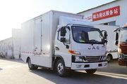 江淮 帅铃i5 4.5T 4.13米单排纯电动厢式轻卡103.42kWh