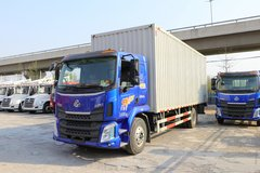 西风柳汽 新乘龙M3中卡 200马力 4X2 6.8米厢式载货车(国六)(LZ5161XXYM3AC1) 卡车图片
