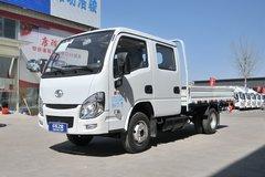 跃进 小福星S70 2019款 113马力 2.65米双排栏板轻卡(国六)(SH1033PEGCNS) 卡车图片