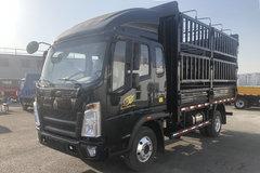 中国重汽HOWO 悍将 143马力 3.85米排半仓栅式轻卡(ZZ5047CCYF3314E145-1) 卡车图片