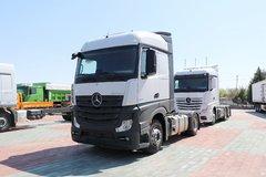 疾驰 新Actros重卡 420马力 4X2牵引车(型号1842LS) 卡车图片