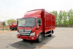 福田 欧马可S1系 156马力 4.17米单排仓栅式轻卡(国六)(BJ5048CCY-F3) 卡车图片